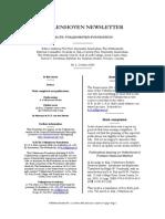 Vollenhoven Newsletter 2 (2005)