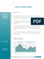 Economic Situation Report - August 2014