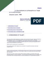 Réponses à des étudiants en philosophie sur l'objet.pdf