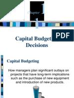 b11 Capital Budget