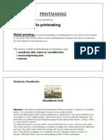 printmaking notes