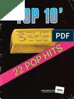 22 Pop Hits - PVG - Book