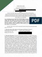 Eric Garner Redacted Notice of Claim