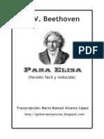 L. V. Beethoven . Para Elisa.Pdf.pdf