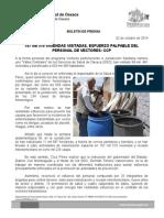 02 DE OCTUBRE DE 2014.-167 mil 510 VIVIENDAS VISITADAS, ESFUERZO PALPABLE DEL PERSONAL DE VECTORES.doc
