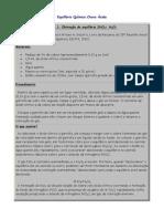 Equilíbrio Químico Chuva Ácida aplicação.docx