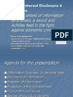 Public Interest Disclosure and Bounties - Working Copy Presentation on 06092014