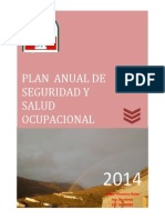 xcxcPLAN ANUAL DE SEGURIDAD Y SALUD OCUAPCIONAL - GOÑE SAC. - 2014.pdf