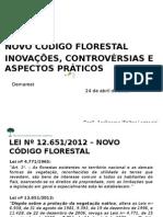 Apresentação novo código florestal Tela Cheia2.ppt