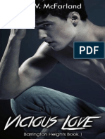 Vicious Love (Barrington Heights 1) - M. W. McFarland