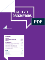 SCQF-LevelDescriptors