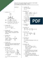 Tryout Ke 3 Fisika A