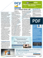 """Pharmacy Daily for Wed 08 Oct 2014 - ACCC v Pfizer kicks off, Stronger NSAID labels for heart risk?, PBS pricing report """"misleading"""", Health, Beauty and New Products, and much more"""