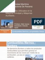 Combustibles Utilizados en la Máquina Principal y Máquinas.pptx