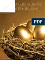 From Bail Outs to Bail Ins Risks and Ramifications International Edition