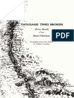 Introduction to Henri Michaux's Thousand Times Broken