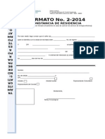 FORMATO 2- 2014 Constancia de residencia.doc