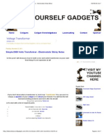 Do It Yourself Gadgets