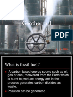 Geothermal Introduction
