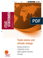 Ituc Statement Report