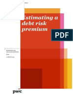 Estimating a Debt Risk Premium - PwC