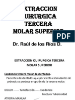 5. EXTRACCION QUIRURGICA TERCERA MOLAR SUPERIOR.ppt