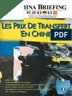 Les Prix de Transfert en Chine