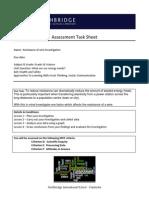nisc resistance of wire task sheet def