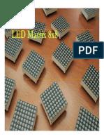 LED Matrix 8x8led