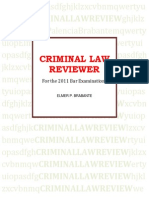 Criminal Law Reviewer by atty. Brabante