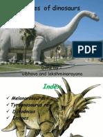 Types of Dinosaour