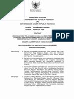 PBM MENKES Dan Menteri Dalam Negeri No. 138 Ttg Pedoman Tarif Pelayanan Kesehatan Peserta Askes