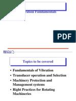 Vibration Fundamentals to System 1