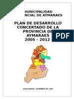 PLAN_11854_PLAN DE DESARROLLO CONCERTADO DE LA PROVINCIA DE AYMARAES_2010.doc