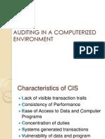 Internal Control in a CIS Environment