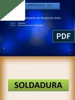 CAPITULO 13.2 REPRESENTACION DE MEDIOS DE UNION SOLDADURA.pptx