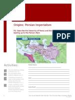 persian wars workbooklet