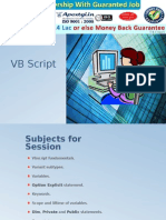 VBScript - Most Popular Scripting Language