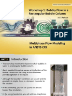 CFX Multiphase 14.5 WS01 Rectangular Bubble Column