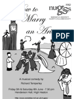 How to Marry an Aristocrat (2009) - Programme