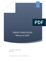 Mapa de Presuacion Adminitracion; Dinero Como Deuda; Jorge Gomez.docx