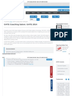 GATE Coaching Tamil Nadu - Salem _ GATE Institute Tamil Nadu