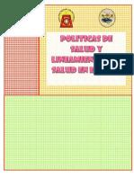 POLITICAS DE SALUD Y LINEAMIENTOS  DE SALUD EN EL PERU.docx