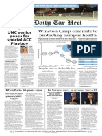 The Daily Tar Heel for Oct. 8, 2014