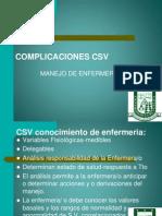 1.COMPLICACIONES CSV II SEMESTRE 2014 2 SEMESTRE..ppt