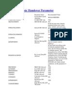 HUAWEI Basic Handover Parameter.docx
