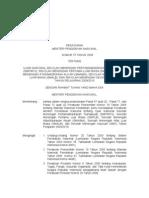 Salinan Permendiknas Nomor 75 Tahun 2009 Tentang Ujian Nasional