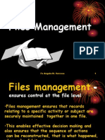 Effective Records Management - Files Management