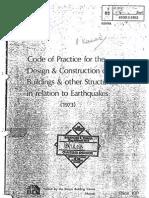 Earthquake Code for Design in KENYA