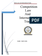 competition law and international trade